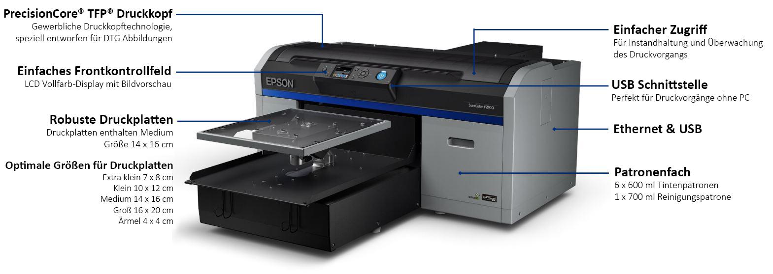 Epson SureColor SC-F2100 - Die Vorteile im Überblick